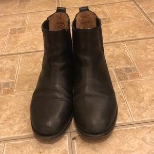 Madewell The Ainsley Chelsea Boot black size 7